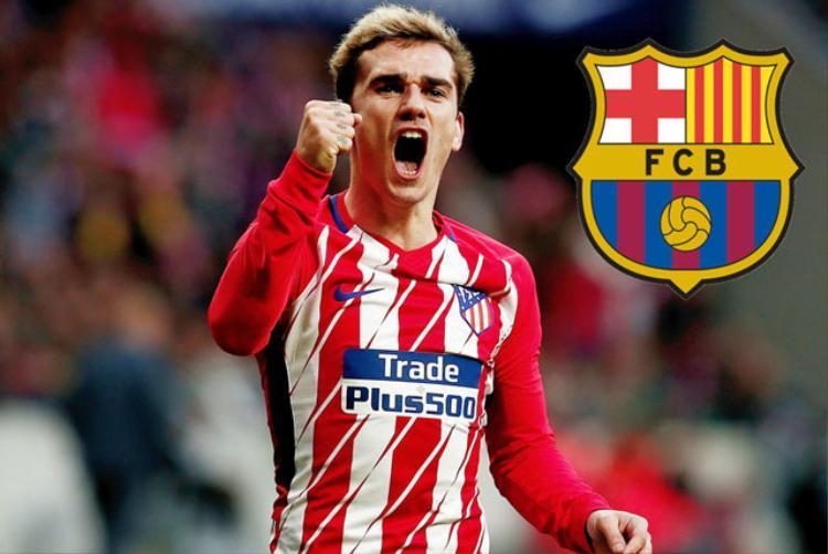 Barca quyết mua bằng được Griezmann.