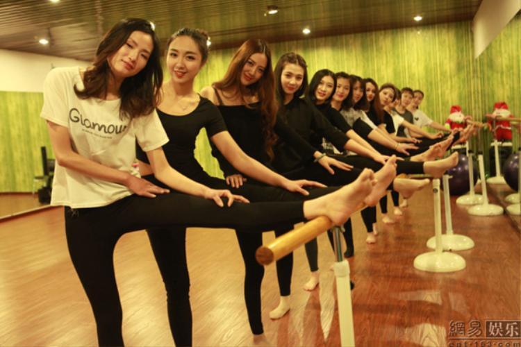 Lớp học vũ đạo của trường.