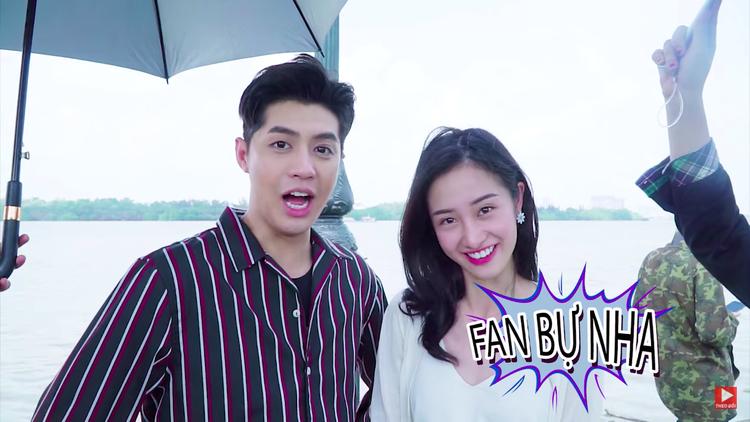 """Jun Vũ là """"fan bự"""" của Noo từ nhỏ đó nha!"""