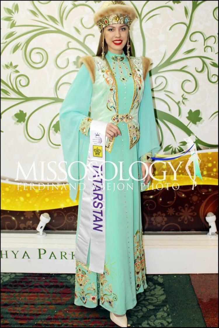 Quốc phục của Tatarstan khá giống với hình ảnh chiếc áo dài của Việt Nam.