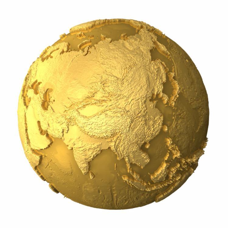 Theo các chuyên gia, khoảng 80% số lượng vàng trên Trái Đất vẫn chưa được tìm thấy và có thể chúng đang nằm sâu dưới lòng đất. Ước tính, tất cả số vàng trên thế giới có thể phủ kín toàn bộ bề mặt Trái Đất với độ sâu khoảng 50 cm.
