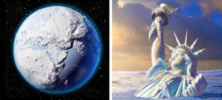 Theo quy luật, mặt trời có các vết đen vỡ ra trên bề mặt cho thấy một ngôi sao đang hoạt động tích cực trong chu kỳ của nó. Tuy nhiên, không biết vì lý do gì mà đôi khi những vết đen này biến mất, để lại bề mặt của mặt trời trở nên mịn màng và trống rỗng. Hiện tượng này đã xảy ra từ thế kỷ 15 và được gọi là kỷ băng hà nhỏ, gây ra sự biến đổi khí hậu rất lớn trên Trái Đất, giữa Iceland và Phần Lan, khiến 1/3 dân số ở hai nước này thiệt mạng. Vào thời điểm đó, người Viking phải rời Phần Lan để tới một nơi khác vì nhiệt độ ở vùng đất này bỗng nhiên hạ xuống rất thấp. Thời kỷ băng hà nhỏ có thể kéo dài trong vài thế kỷ cho đến cuối thế kỷ 19. Ngày nay, các nhà khoa học đã bắt đầu chú ý tới cùng một khuynh hướng trên mặt trời và tin rằng ngôi sao gây ra kỷ băng hà nhỏ ở những thế kỷ trước có thể sẽ tiếp tục tạo ra một kỷ băng hà nhỏ khác vào năm 2019.