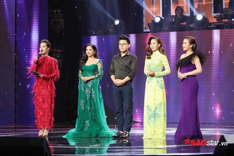 Top 4 chung cuộc Thần tượng Bolero 2018: Hoàng Hải, Duy Cường, Thanh Lan, Thuý Anh.
