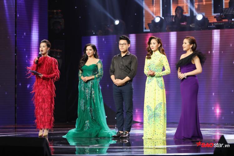 Top 4 thí sinh bước vào bán kết Thần tượng Bolero 2018: Hoàng Hải, Duy Cường, Thanh Lan, Thúy Anh.