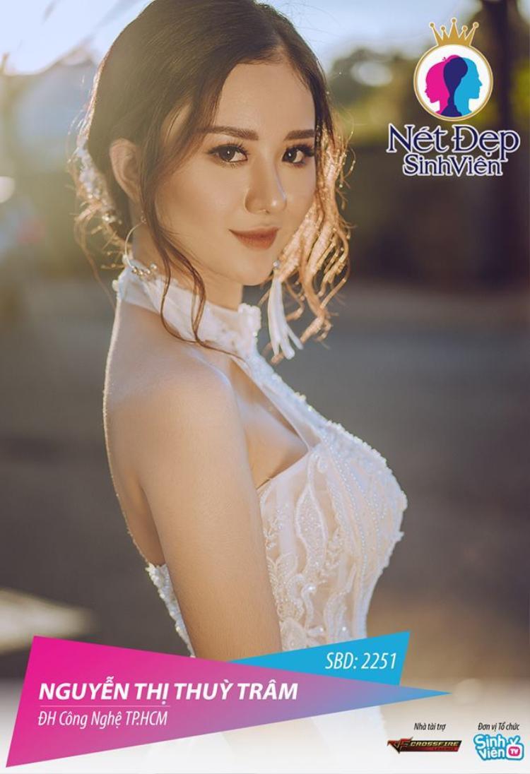 Nguyễn Thị Thuỳ Trâm, sinh viên trường Đại học Công nghệ TP.HCM - vừa chăm chỉ hoàn thành môn học ở trường, vừa thực hiện đam mê làm người mẫu ảnh