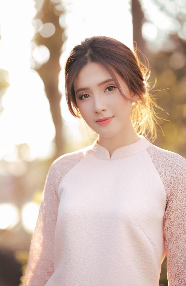 Nữ sinh xinh đẹp Trần Nguyễn Thiên An đến từ ĐH Hutech.