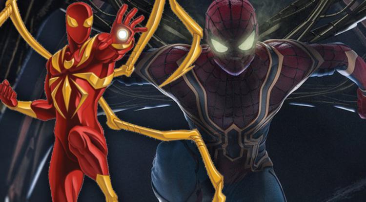 Bộ chi nhện đã giúp Peter Parker rất nhiều suốt Infinity War.