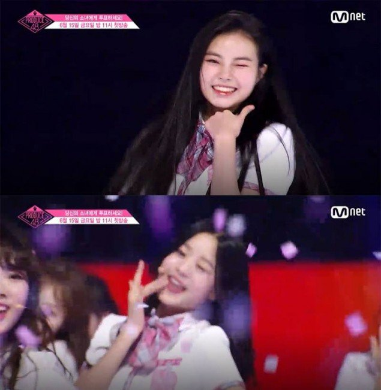 Muốn được chú ý như hotboy nháy mắt Wanna One, dàn mỹ nữ Produce 48 thi nhau bắt chước