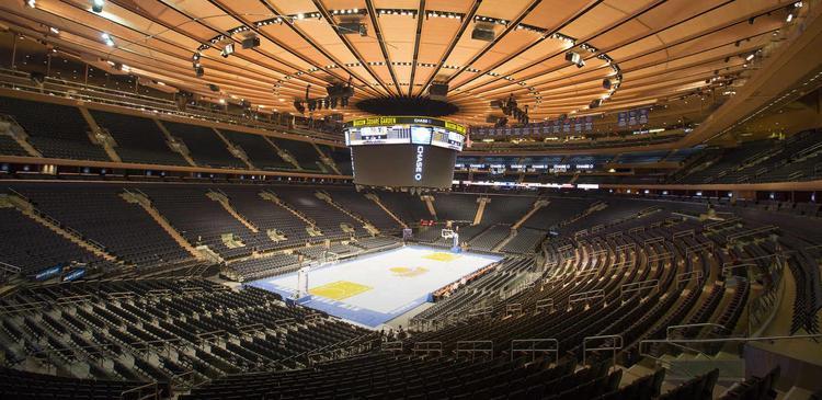 Nhà thi đấu Madison Square Garden huyền thoại đã từng đón tiếp tổng cộng khoảng 22,000 khán giả cho 2 đêm diễn Witness: The Tour.