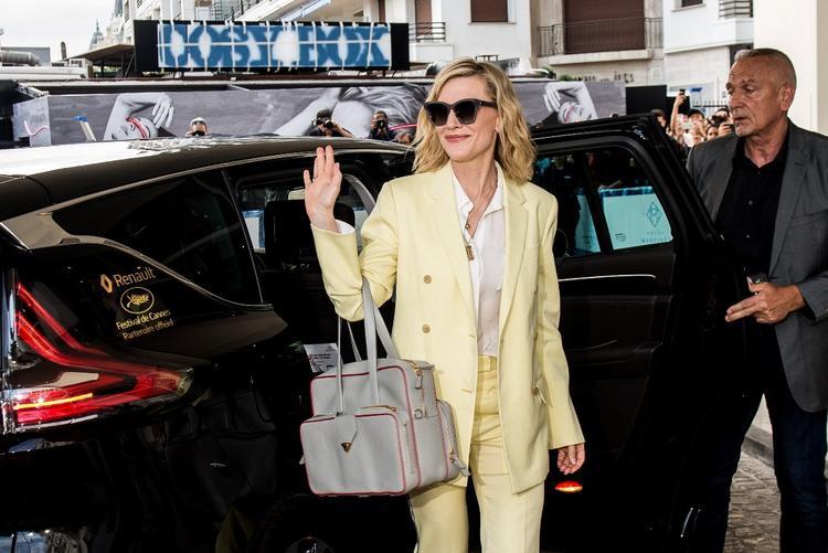 Siêu sao nước Úc - Cate Blanchett rạng rỡ xuất hiện tại LHP Cannes 2018 với vai trò là giám khảo năm nay.