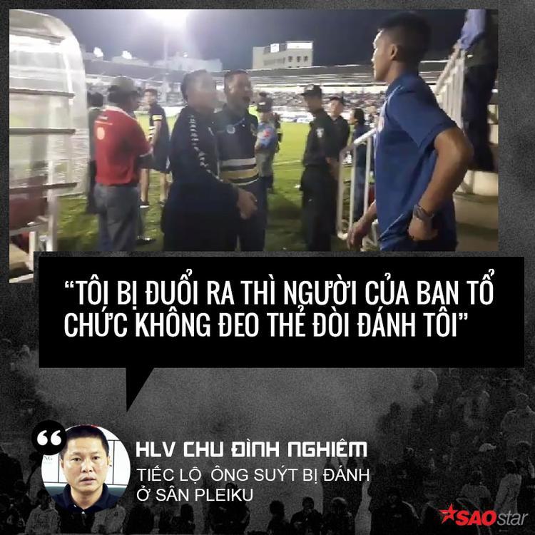 Toàn cảnh vụ việc trên sân Pleiku qua những phát ngôn của HLV CLB Hà Nội