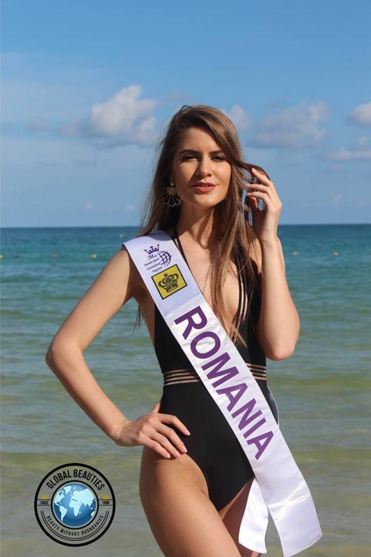 Người đẹp Romania là thí sinh có nhan sắc tương đối nổi bật giữa dàn thí sinh năm nay.