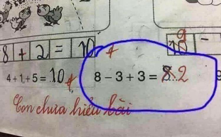 Bài toán lớp 1 thuyền trưởng gây tranh cãi.