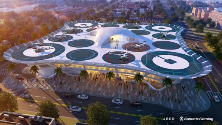 Dự án taxi bay cực kì ấn tượng của Uber sẽ hoạt động ra sao?