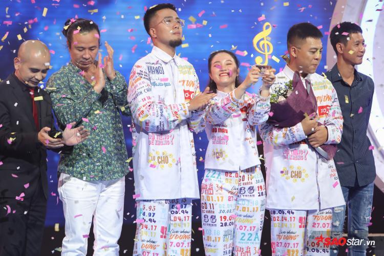 Lộn Xộn chính thức trở thành Tân Quán quân Sing My Song 2018.