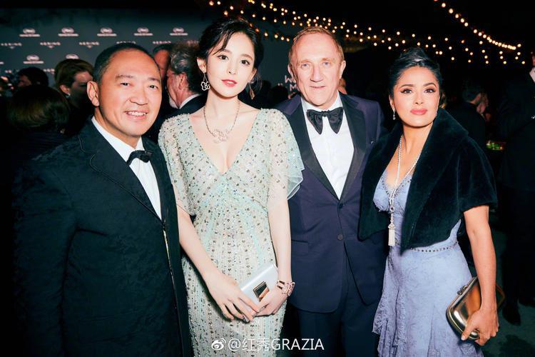 Cổ Lực Na Trát tham dự Cannes với lời mời của Qeelin, một trong ba thương hiệu cao cấp hàng đầu thế giới và tiệc tối của Tập đoàn Kaiyun.