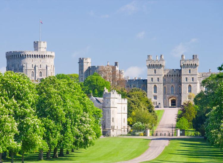 """""""Đám cưới thế kỷ"""" sẽ diễn ra tại lâu đàiWindsor. Ảnh: Getty"""