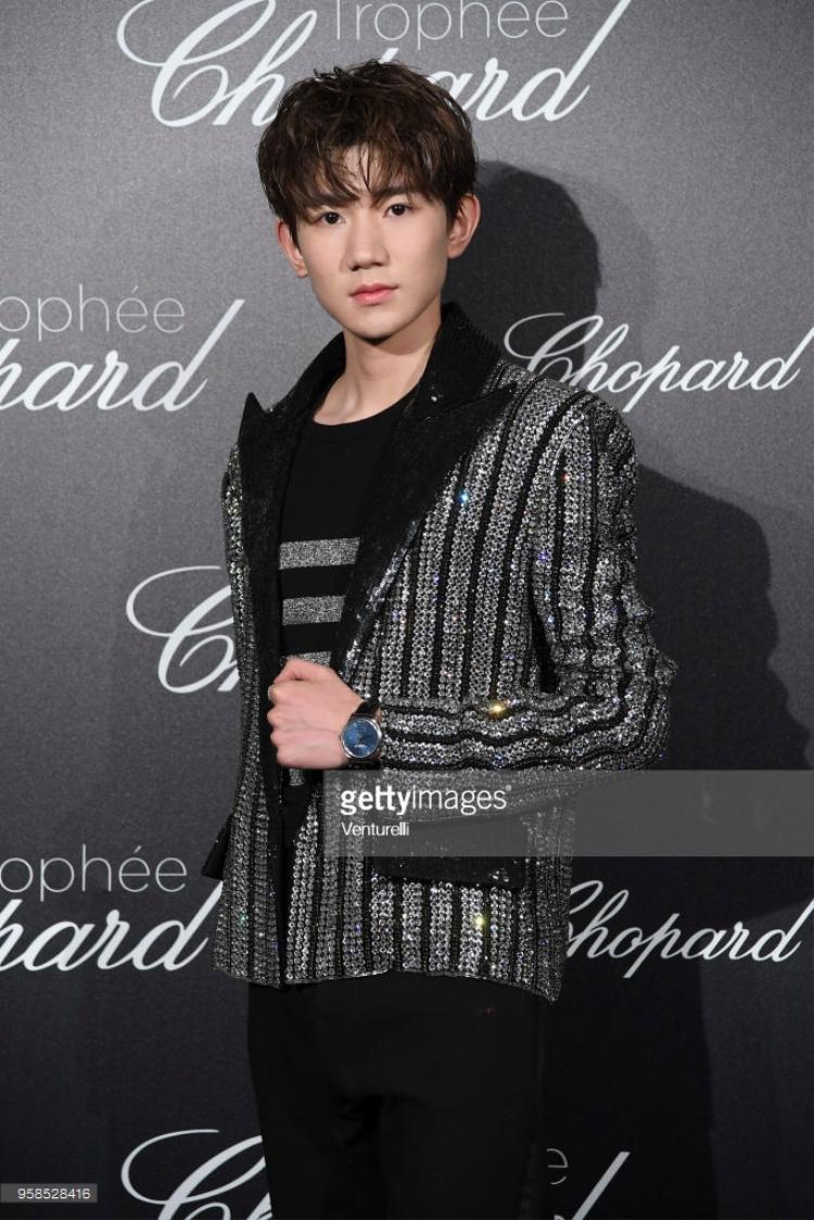 Vương Nguyên thuộc nhóm nhạc TFBoys.