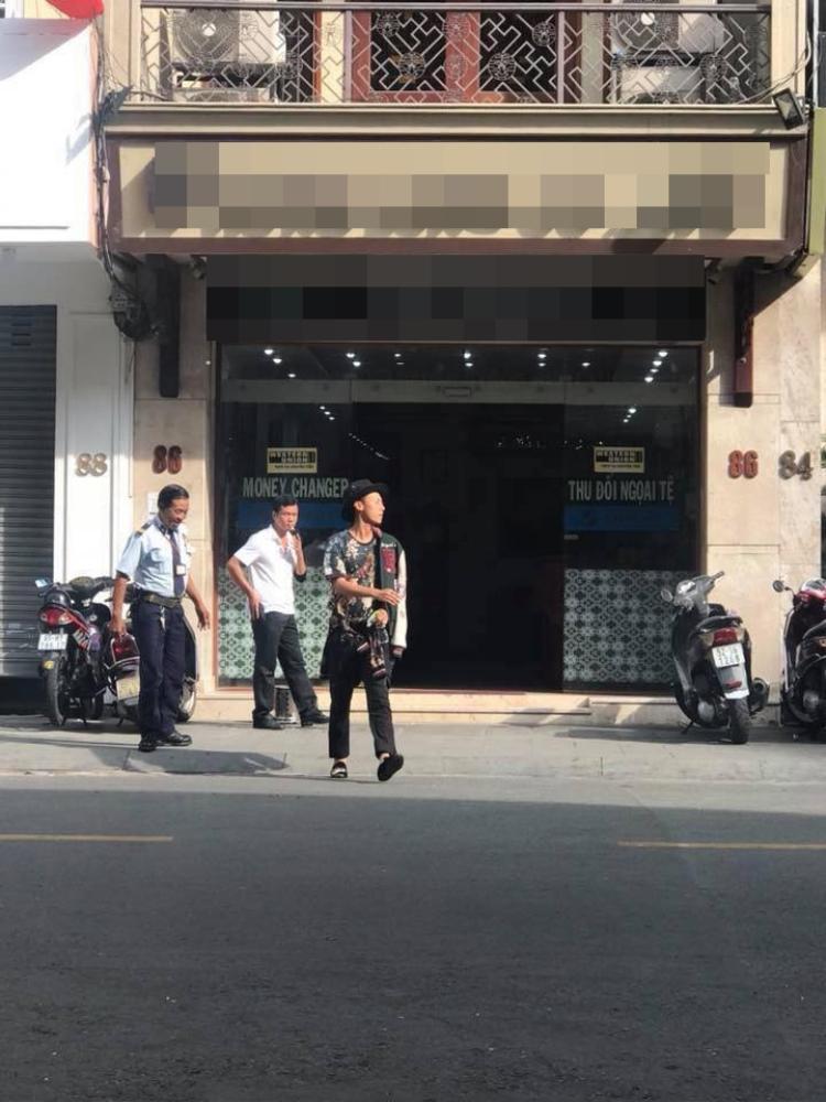 Hình ảnh mới nhất được cho là của Rocker Nguyễn.