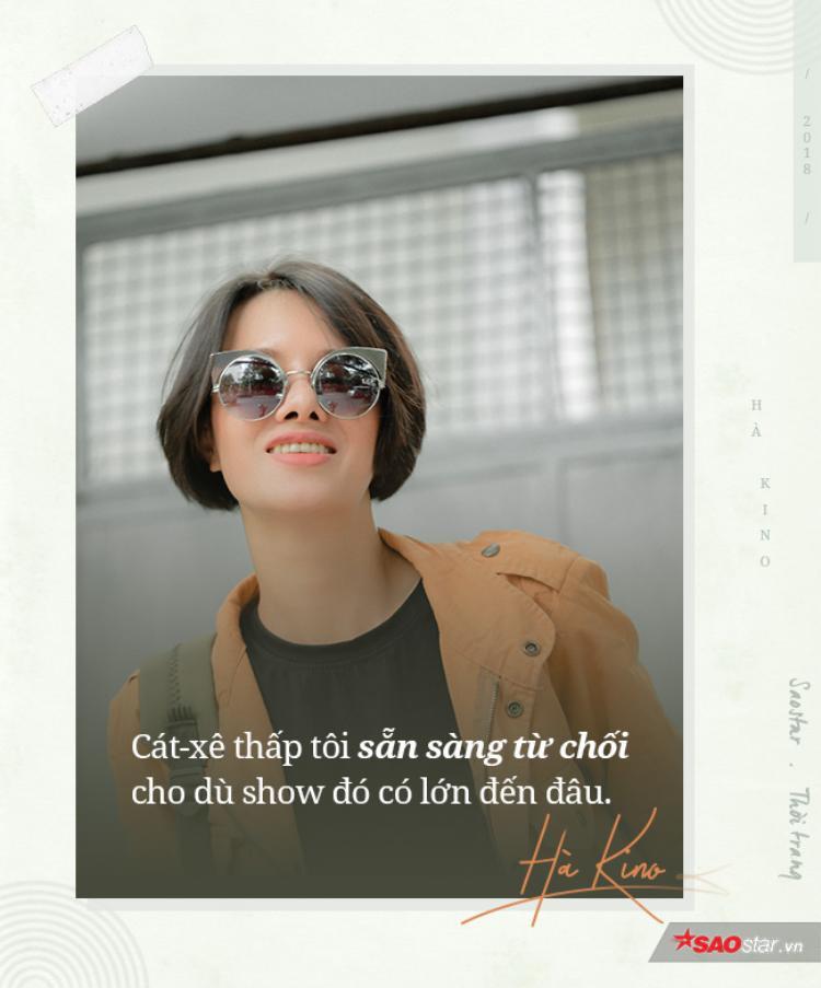 Người mẫu Hà Kino: Đừng nghĩ catwalk ở sàn diễn Quốc tế sẽ đem về cho bạn số tiền hậu hĩnh