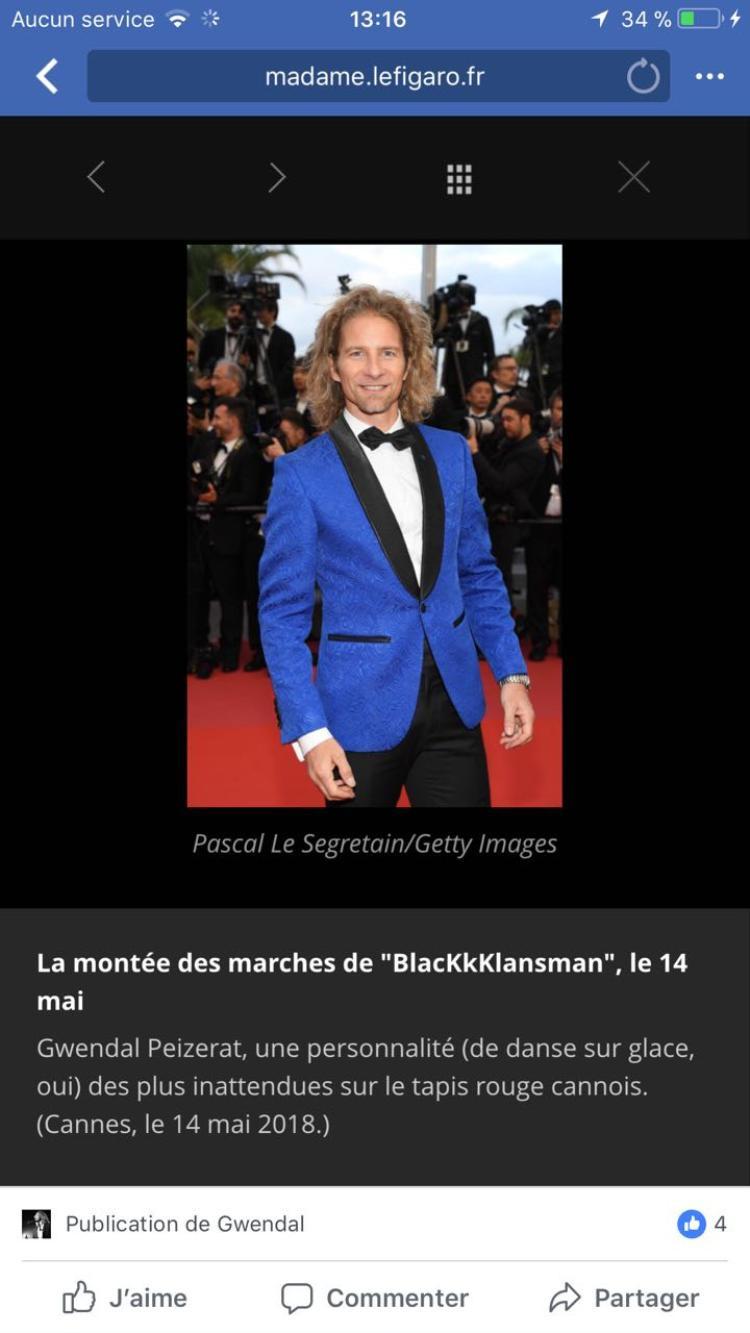 Hình ảnh của Gwendal Peizerat được tờ báo Madame Le Figaro đăng tải và dành nhiều lời khen ngợi. Được biết, đây là một tờ báo rất uy tín tại Pháp.