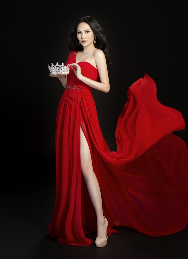 Vương miện Nữ hoàng Du lịch Quốc tế là mục tiêu cuối cùng của Diệu Linh tại cuộc thi.