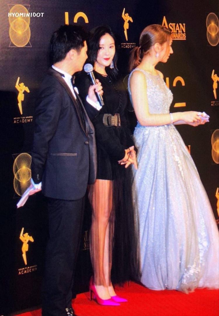 Vô cùng nổi bật tại Asian Film Awards diễn ra ở Macau.