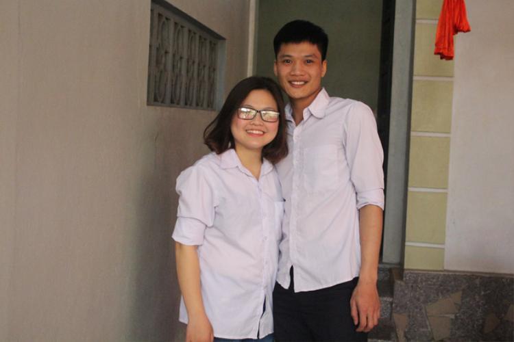 Sau 4 năm yêu, chàng đã vỗ béo cho nàng thành công, từ nàng mi nhon 42kg lên 62kg.