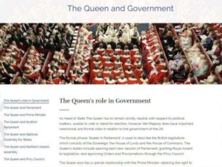 Không chạy đua chính trị. Nguồn: Cung điện Buckingham