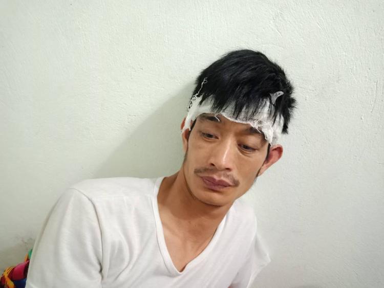 Anh Điềm hiện đang được chăm sóc tại bệnh viện.
