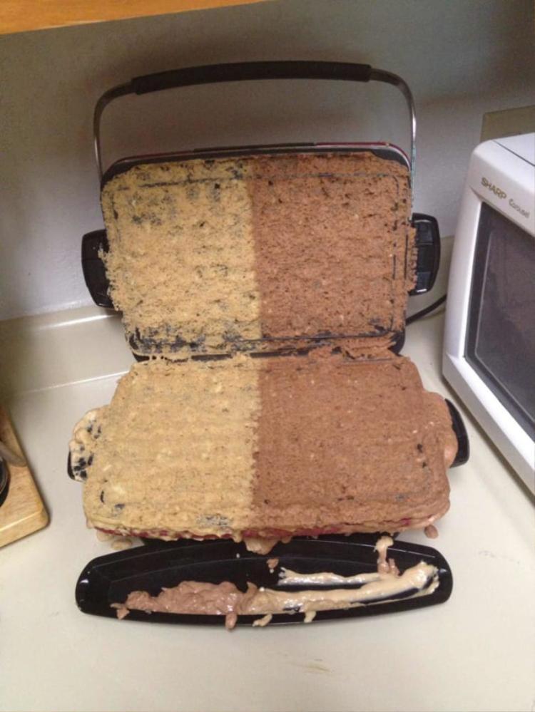 Bánh tràn nguyên kem.
