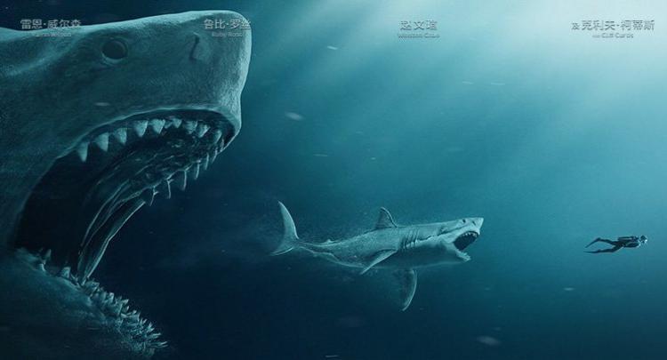 Jason Statham phải bơi với cá mập thật để hiểu nỗi sợ hãi trước khi quay phim The Meg