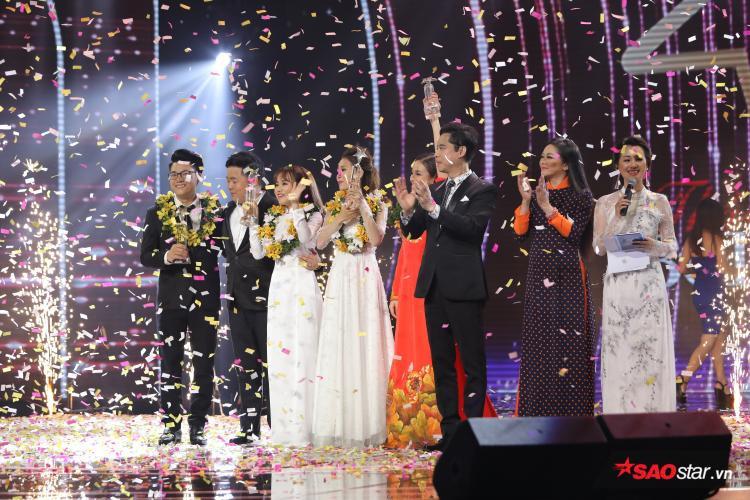 Học trò Ngọc Sơn  Tiến sĩ 9x Duy Cường đăng quang quán quân Thần tượng Bolero 2018
