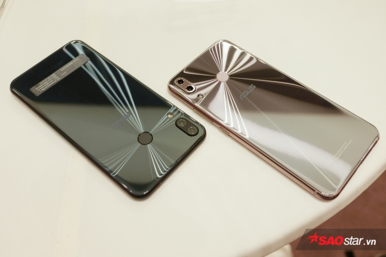 Cận cảnh ZenFone 5 vừa ra mắt tại VN: Thiết kế bóng bẩy, màn hình tai thỏ và camera cao cấp