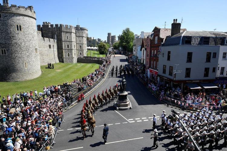 Theo thống kê, có hơn 250 thành viên đến từ các lực lượng quân đội khác nhau gồm lính gác Ireland, sư đoàn Gurkha, lực lượng Không quân, lực lượng Hải quân Hoàng gia Anh và đội kỵ binh Household Cavalry, sẽ tham gia màn diễu hành này. Ảnh Reuters