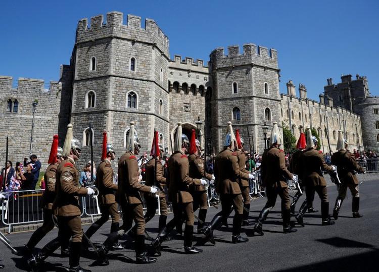 Đội kỵ binh Hoàng gia Anh. Ảnh Reuters