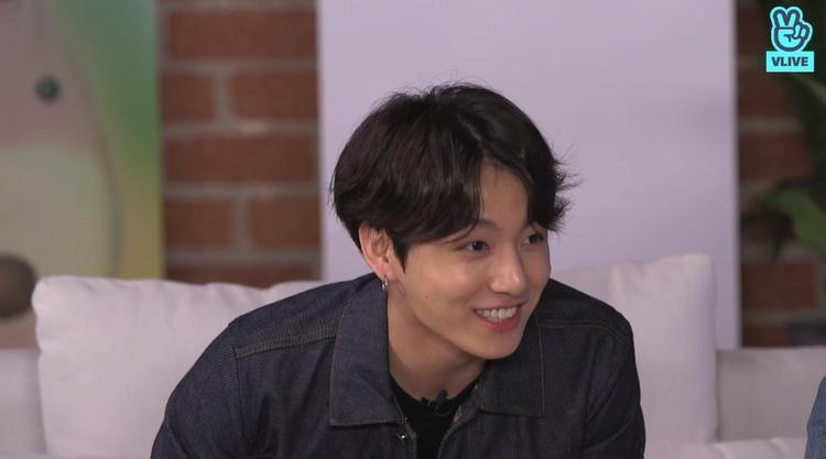 Jungkook với khoảnh khắc đốn tim fan.