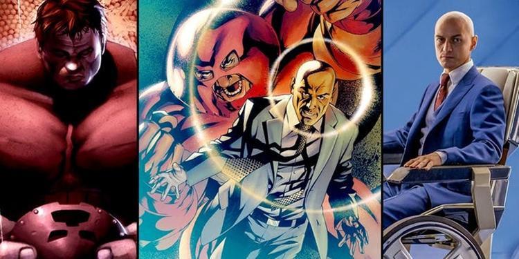 Juggernaut và Xavier là anh em trong truyện tranh.