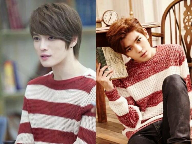 Nhiều người cho rằng gương mặt của Taeyong rất giống với Kim Jaejoong (JYJ) - visual huyền thoại của Kpop.