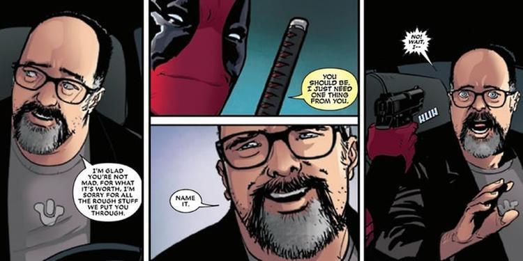 Hai vị tác giả của truyện tranh Deadpool cũng được mang vào phim.