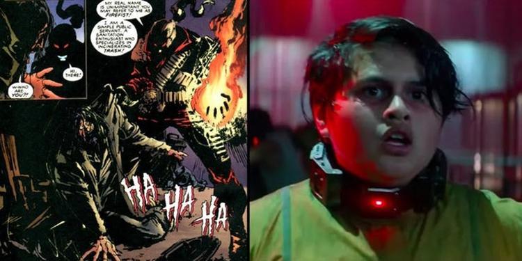 Russell và Firefist của Marvel đều có back story giống nhau đến kinh ngạc.