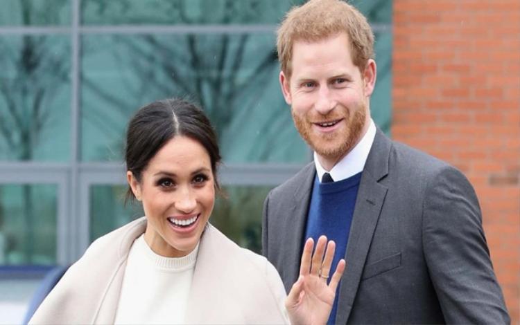 Hoàng tử Harry và Meghan sẽ chính thức có tước hiệu mới sau lễ cưới hôm nay. Ảnh: Daily Mail