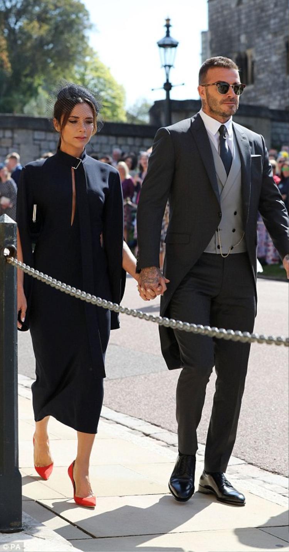 Dẫn đầu dàn khách mời hạng A là vợ chồng Victoria Beckham.