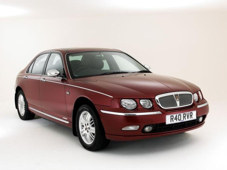 Chiếc Rover 75 V6 (2001).