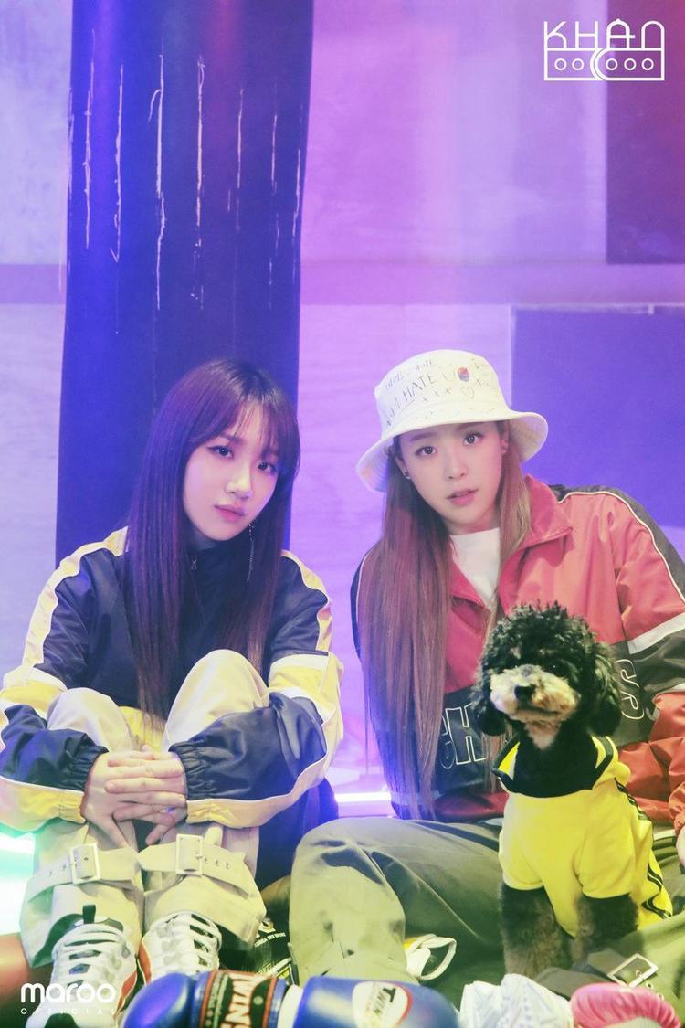 Mới đây, Euna đã kết hợp với Minju - cũng là thành viên The Ark khi xưa tạo nên bộ đôi KHAN.
