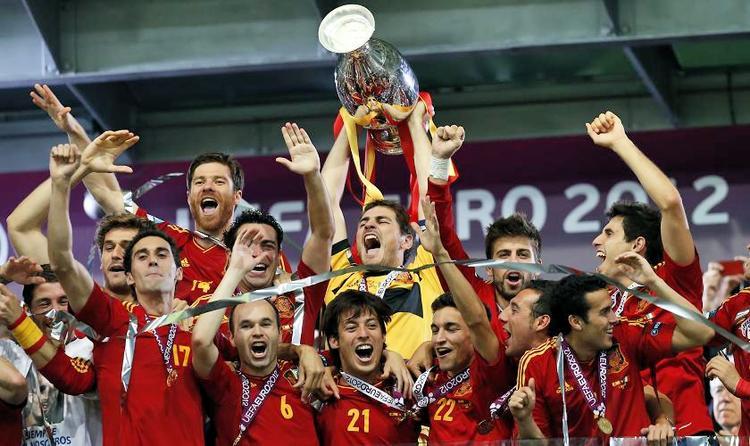 Tây Ban Nha VĐ EURO 2012.