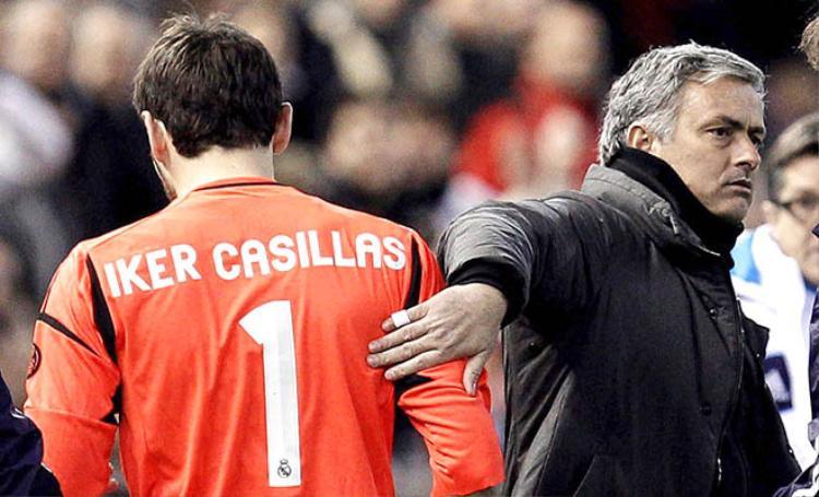 Mối quan hệ giữa Casillas và HLV Mourinho không thật sự tốt.
