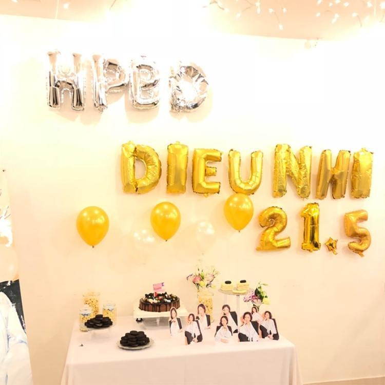 CheriFarm (FC Diệu Nhi) đã chuẩn bị buổi tiệc khá công phu để mừng sinh nhật thần tượng.