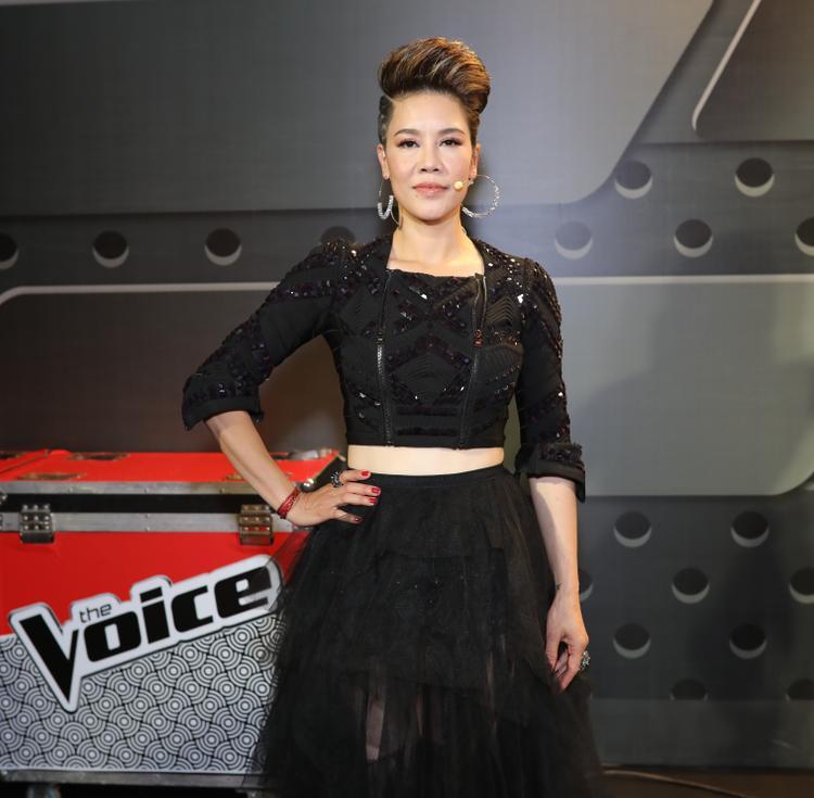Thần thai của Nữ danh ca hải ngoại tại The Voice 2018.
