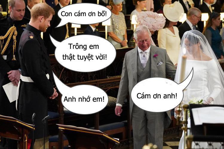 Giải mã đoạn hội thoại ngọt ngào giữa Hoàng tử Harry và Meghan Markle trong đám cưới